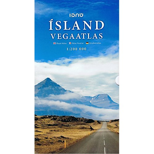 AED ICELAND ROAD ATLAS (SPIRALES) 1/200.000