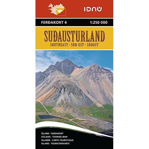 AED ISLANDE SUD-EST 4  1/250.000