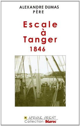 ESCALE A TANGER - 1846