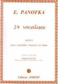 VOCALISES VOL.2 OP.81B (24) --- VOIX GRAVE ET PIANO