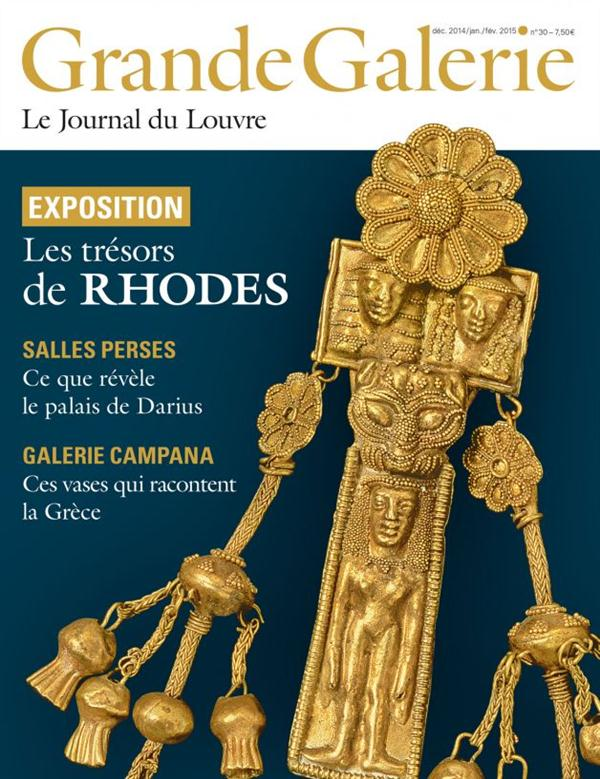 GRANDE GALERIE N 30 - EXPOSITION LES TRESORS DE RHODES