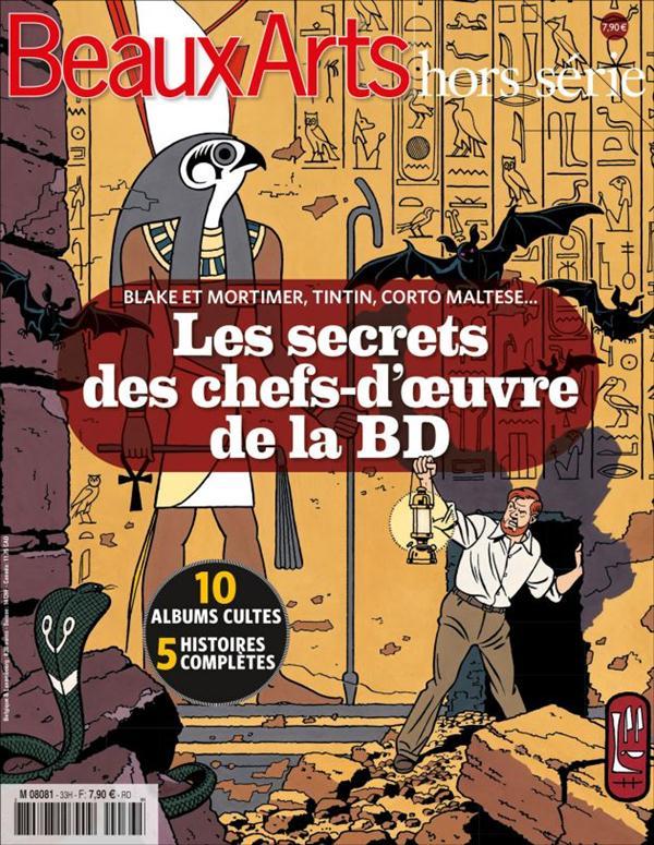 LES SECRETS DES CHEFS-D'OEUVRE DE LA BD