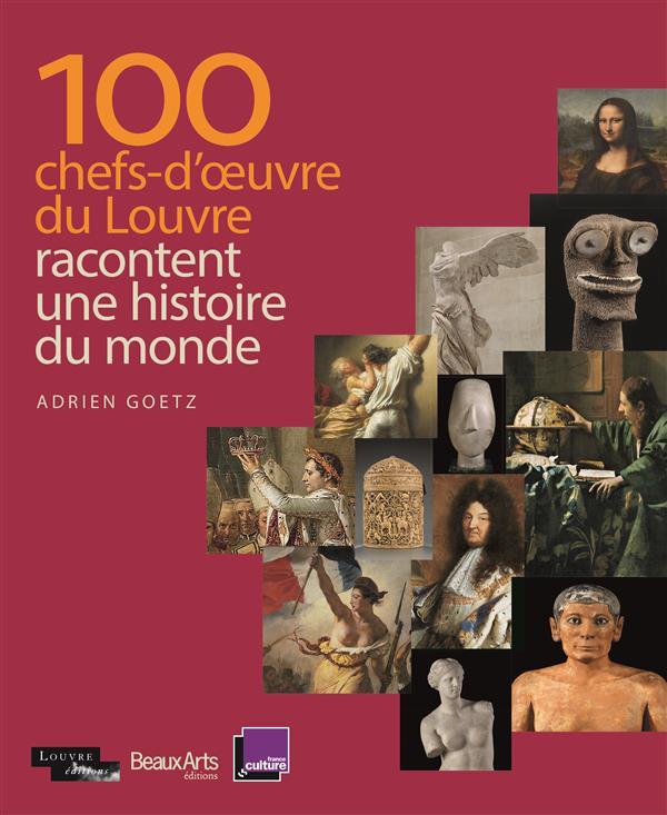 100 CHEFS-D'OEUVRE DU LOUVRE RACONTENT L'HISTOIRE DU MONDE