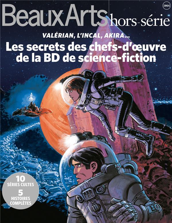 LES SECRETS DES CHEFS D'OEUVRE DE LA BD DE SCIENCE FICTION