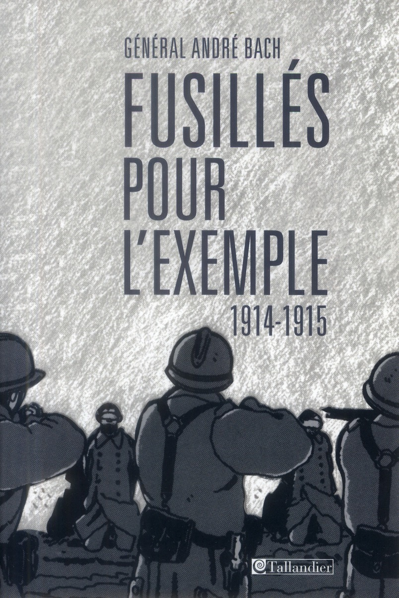 FUSILLES POUR L EXEMPLE 1914-1915