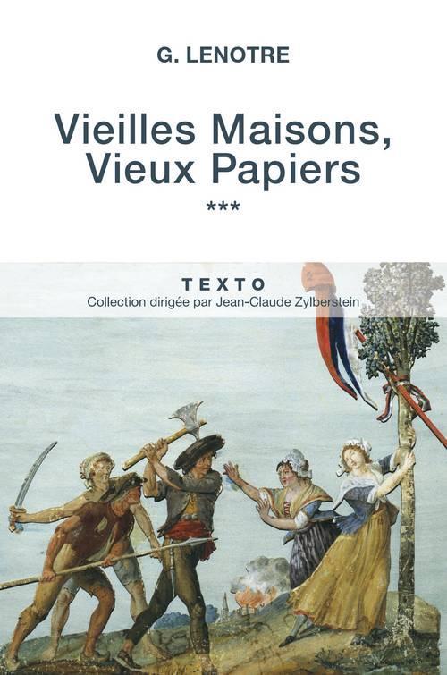 VIEILLES MAISONS VIEUX PAPIERS T3