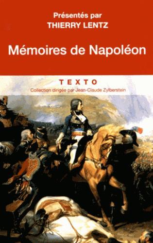 MEMOIRES DE NAPOLEON
