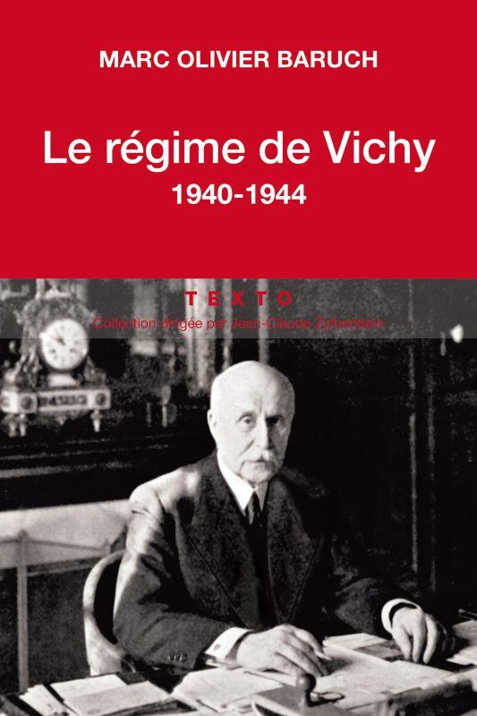 LE REGIME DE VICHY