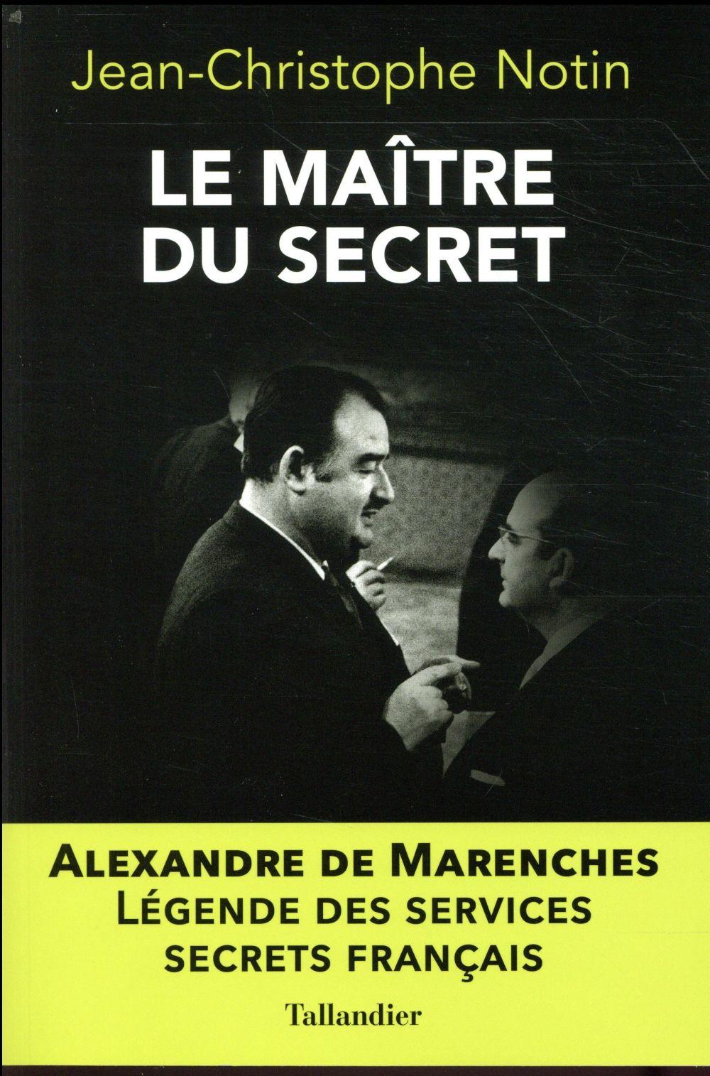 LE MAITRE DU SECRET