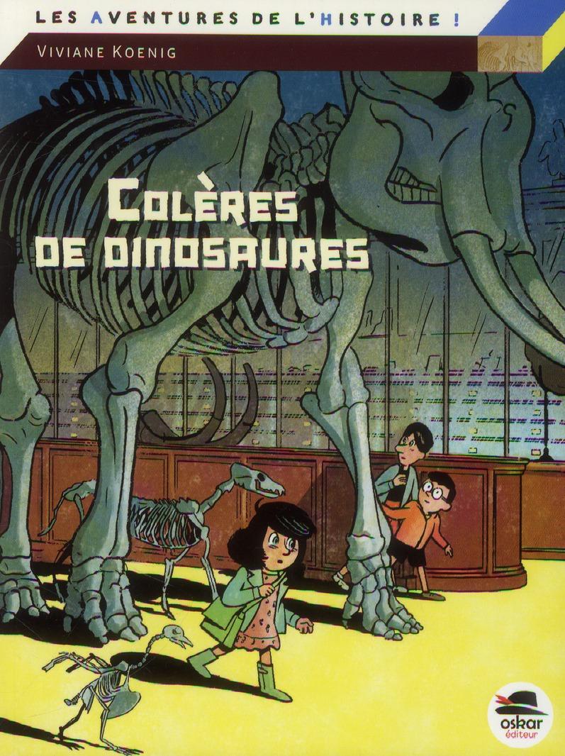 COLERES DE DINOSAURES