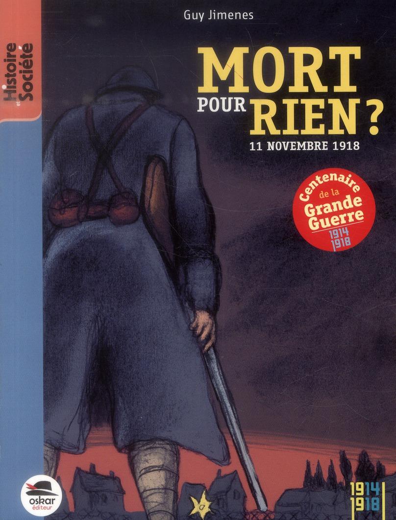 MORT POUR RIEN - NOUVELLE EDITION
