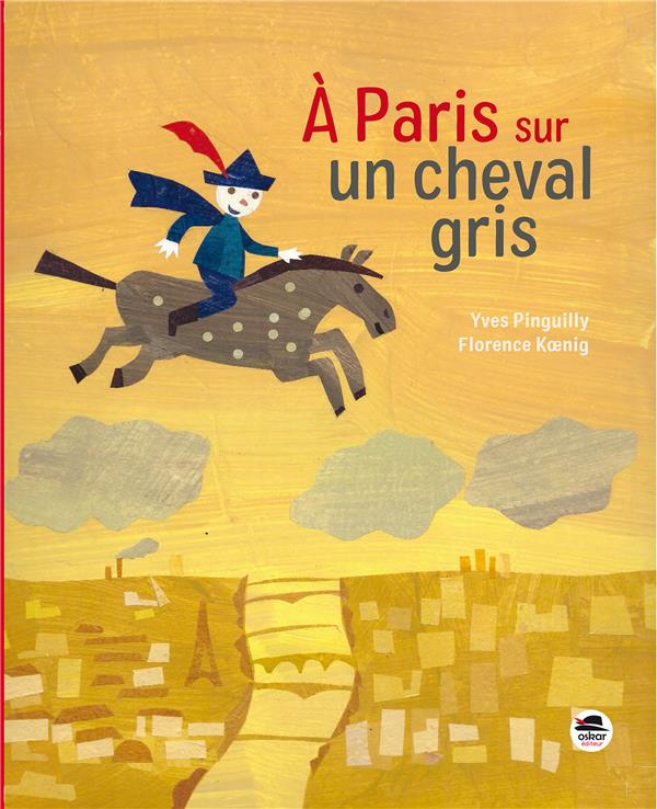 A PARIS SUR UN CHEVAL GRIS