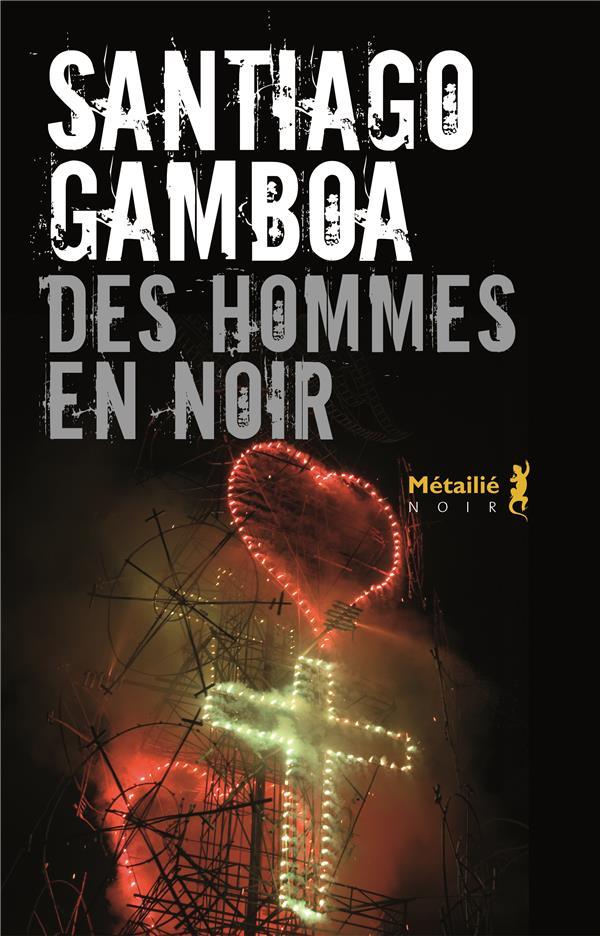 DES HOMMES EN NOIR