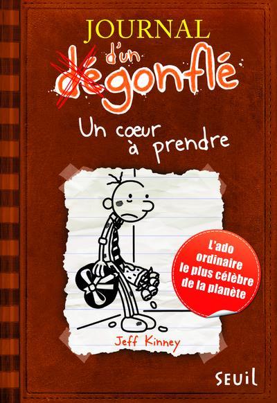 JOURNAL D'UN DEGONFLE, TOME 7. UN COEUR A PRENDRE    DS L ESCALIER
