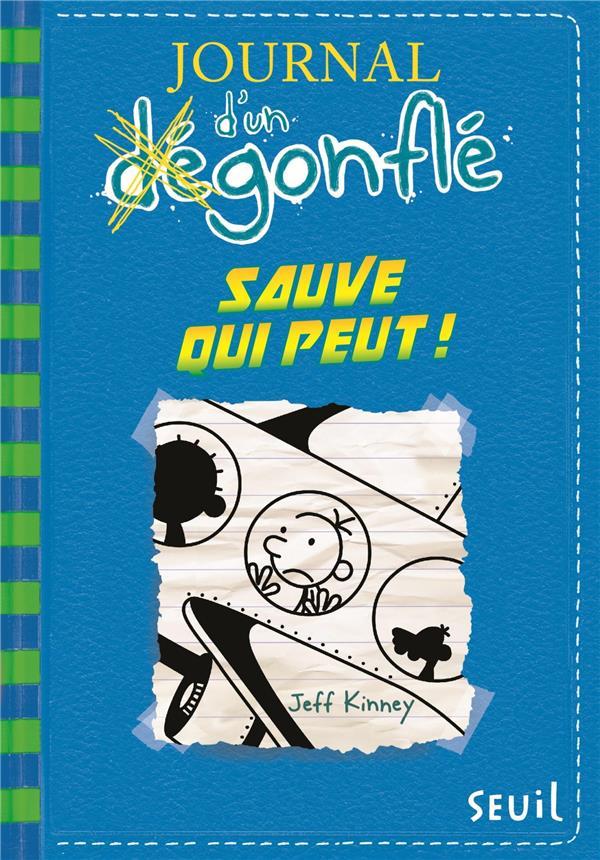 JOURNAL D'UN DEGONFLE - TOME 12 SAUVE QUI PEUT   DS L ESCALIER        ET RDC