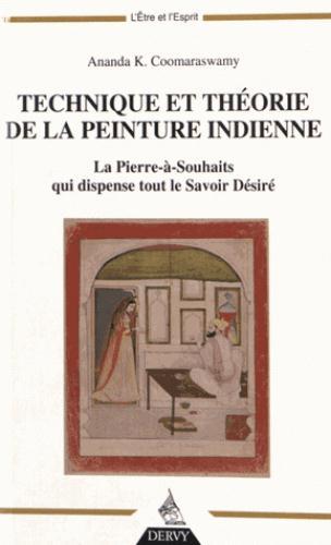 TECHNIQUE ET THEORIE DE LA PEINTURE INDIENNE