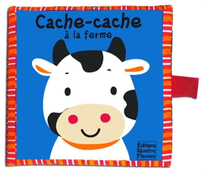 CACHE-CACHE A LA FERME CARRE TISSU