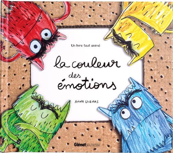 LA COULEUR DES EMOTIONS BAC LIVRE ANIME    VITRINE