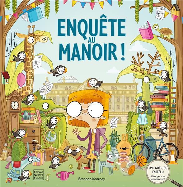 ENQUETE AU MANOIR !