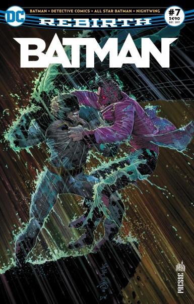 BATMAN REBIRTH 07 LE CHAT ET LA CHAUVE-SOURIS !