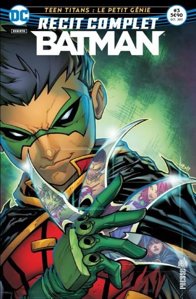 RECIT COMPLET BATMAN 03 TEEN TITANS : LE PETIT GENIE