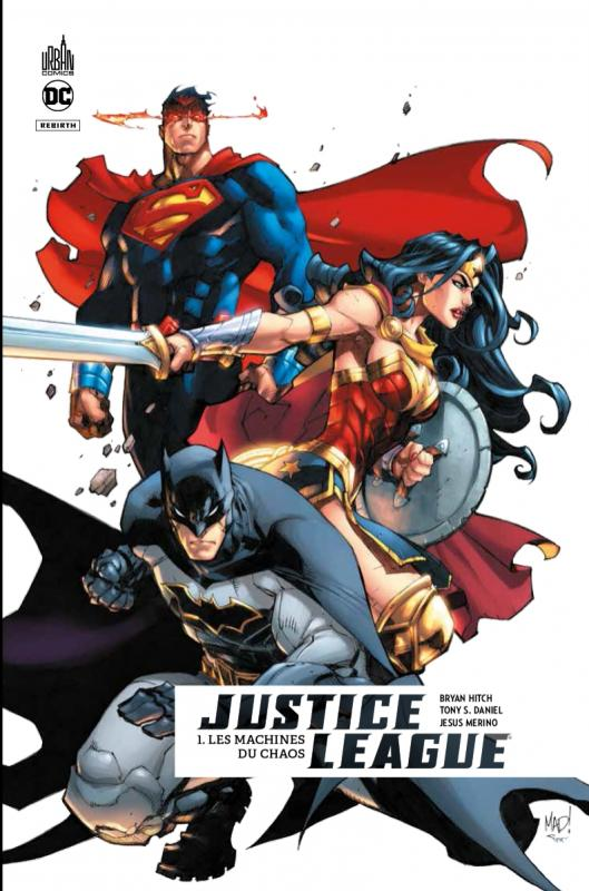 JUSTICE LEAGUE REBIRTH T01 GLBD