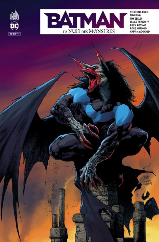 BATMAN - LA NUIT DES MONSTRES - DC REBIRTH