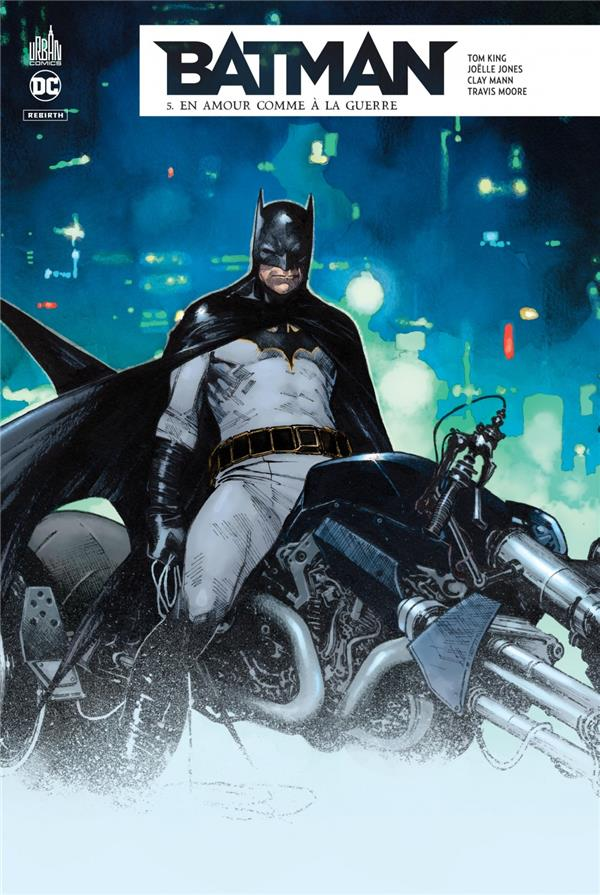 BATMAN REBIRTH TOME 5