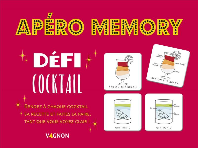 APERO MEMORY : DEFI COCKTAILS