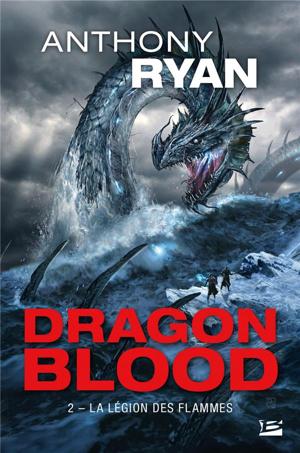 DRAGON BLOOD, T2 : LA LEGION DES FLAMMES