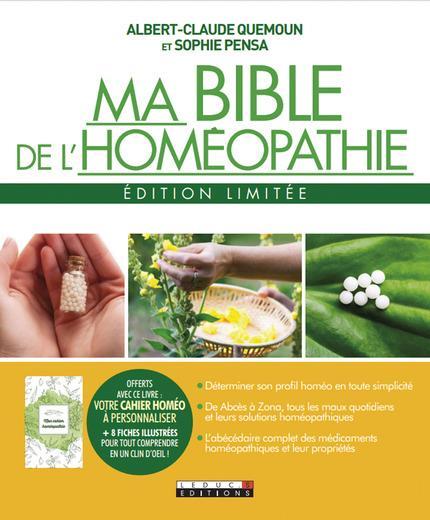 BIBLE DE L'HOMEOPATHIE EDITION LIMITEE (MA)