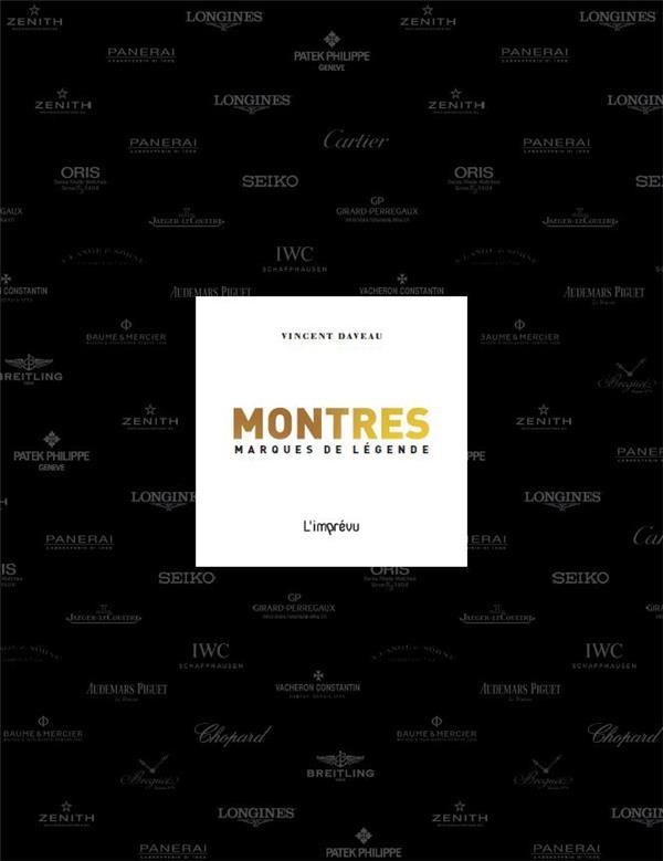 MONTRES MARQUES DE LEGENDE