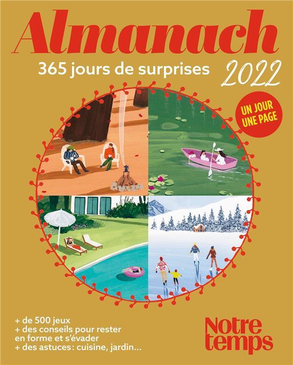 ALMANACH NOTRE TEMPS 2022