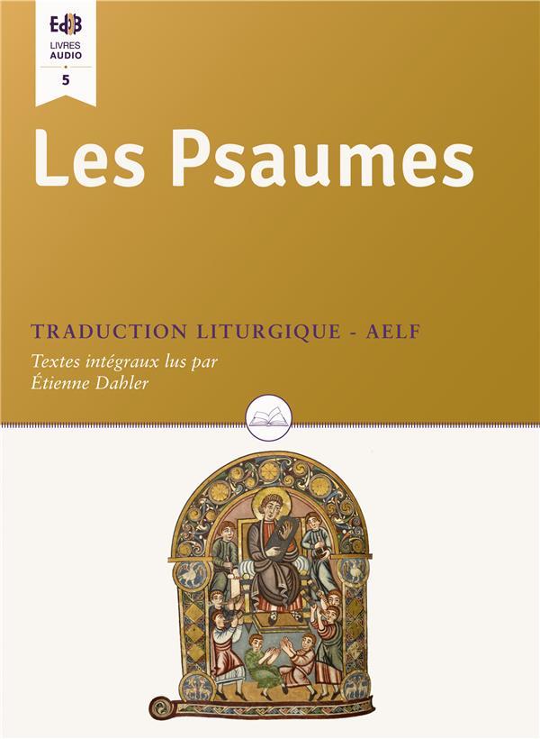 CD LES PSAUMES. NOUVELLE TRADUCTION LITURGIQUE (LIVRE AUDIO)
