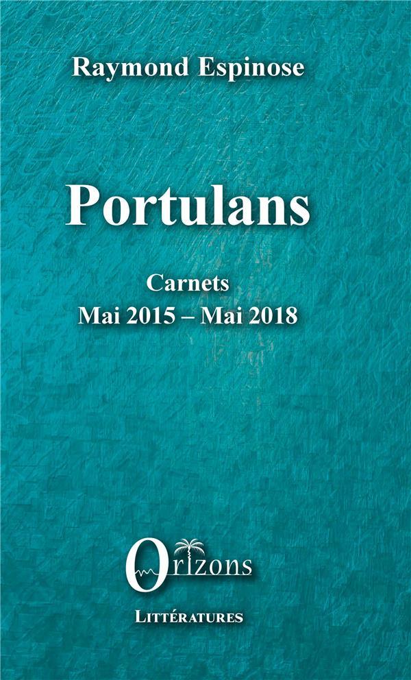 PORTULANS - CARNETS - MAI 2015 - MAI 2018