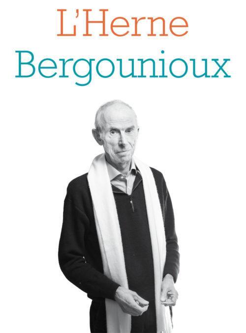 CAHIER BERGOUNIOUX
