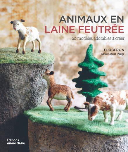 ANIMAUX EN LAINE FEUTREE