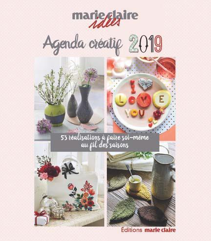 AGENDA CREATIF MARIE-CLAIRE IDEES 2019