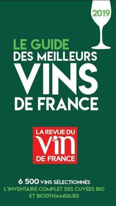 LE GUIDE DES MEILLEURS VINS DE FRANCE 2019