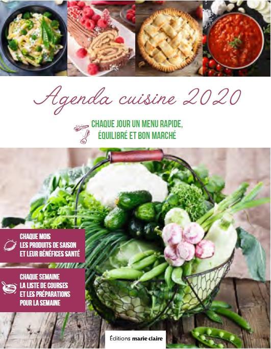 AGENDA CUISINE 2020