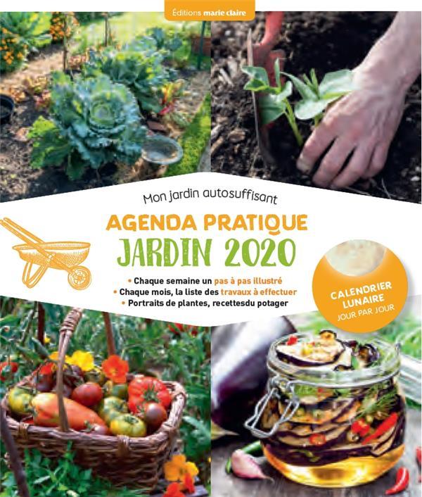 AGENDA PRATIQUE JARDIN 2020