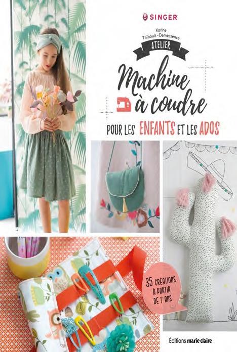 ATELIER MACHINE A COUDRE POUR LES ENFANTS ET LES ADOS