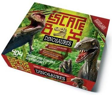 ESCAPE BOX DINOSAURES