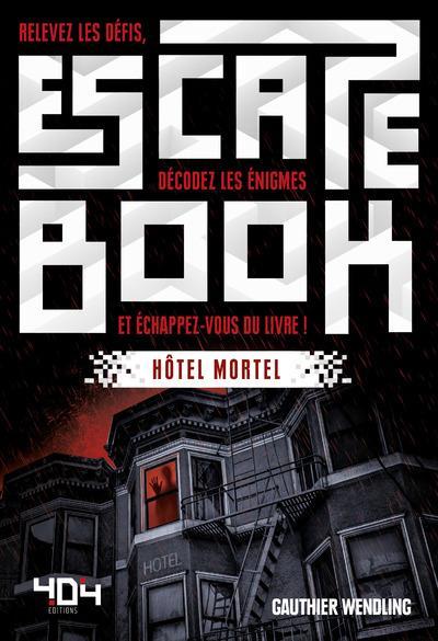 ESCAPE BOOK  HOTEL MORTEL