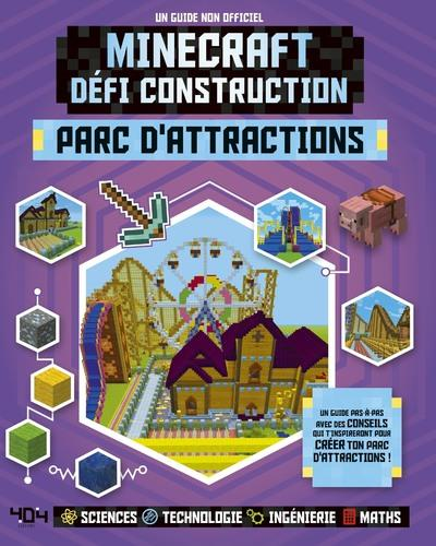 MINECRAFT, DEFI CONSTRUCTION - PARC D'ATTRACTIONS
