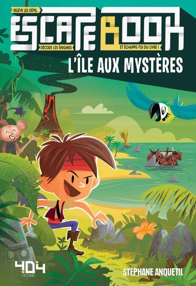 ESCAPE BOOK - L'ILE AUX MYSTERES
