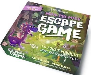 MON PREMIER ESCAPE GAME : LA FORET MAGIQUE - ESCAPE GAME ENFANT DE 2 A 5 JOUEURS - DE 5 A 7 ANS