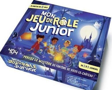 MON JEU DE ROLE JUNIOR - JEU DE ROLE ENFANT DE 2 A 5 JOUEURS - DE 8 A 12 ANS
