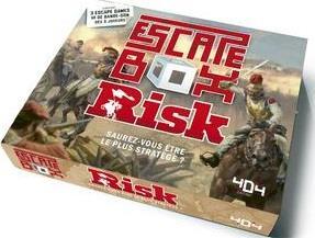 ESCAPE BOX RISK - ESCAPE GAME OFFICIEL ADULTE DE 3 A 6 JOUEURS - DES 14 ANS ET ADULTE