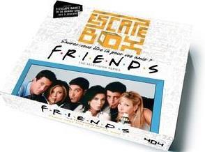 ESCAPE BOX FRIENDS - ESCAPE GAME OFFICIEL F.R.I.E.N.D.S. ADULTE DE 3 A 6 JOUEURS - DES 14 ANS ET ADU